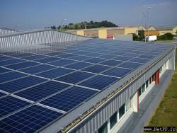 Nettoyage de centrale photovoltaïque Batiment industriel