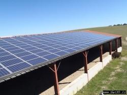 Nettoyage de centrale photovoltaïque Centre équestre