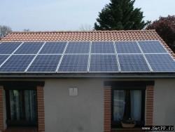 Nettoyage de centrale photovoltaïque Particulier, maison individuelle, villa, pavillon